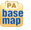 Pennsylvania Base Map Themes